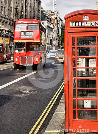 Classic routemaster double decker bus Editorial Stock Image