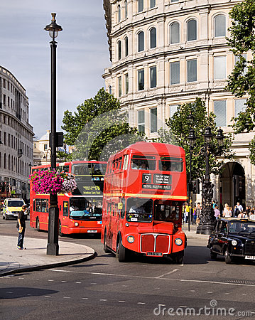 Classic routemaster double decker bus Editorial Photography