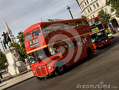 Classic routemaster double decker bus Editorial Photo