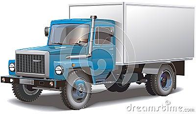Classic russian truck