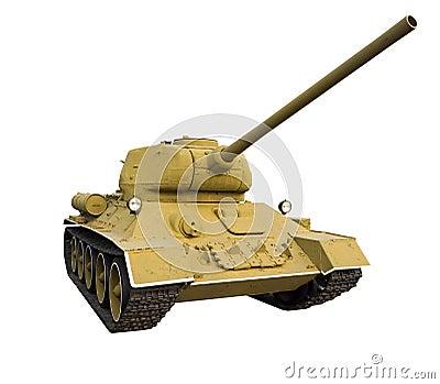Classic Soviet tank