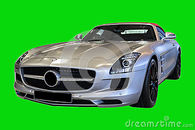 Classic Sports Car SLS AMG Roadster 2012