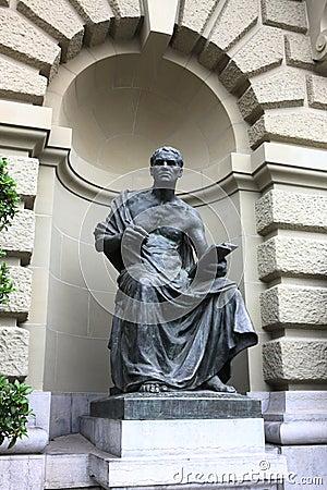Classic statue in Bern