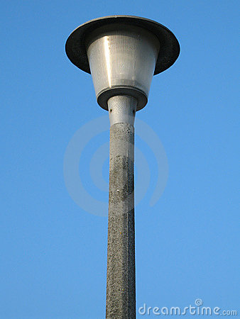 Classic street lamp.