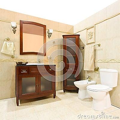 Classic style bathroom