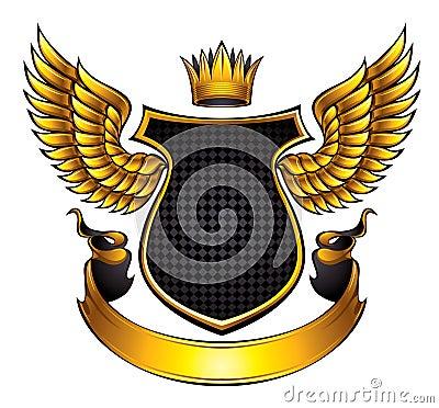 Classic style emblem.