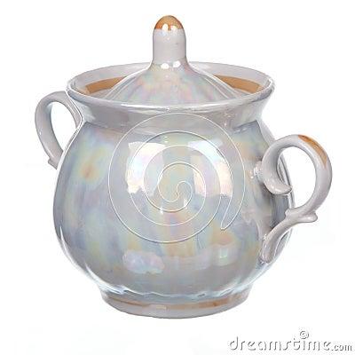 Free Classic Sugar Bowl Royalty Free Stock Photography - 35597807