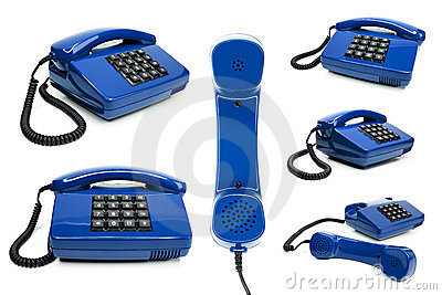 Classic telephone collection