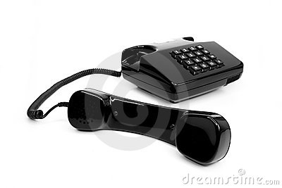 Classic Telephone From The Eighties Stock Photography - Image: 22603452