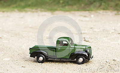 Classic toy truck car
