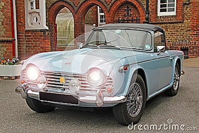 Classic triumph tr4 car