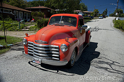 Classic truck Editorial Stock Image
