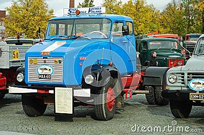 Classic trucks Editorial Stock Photo
