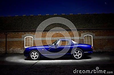 Classic TVR sports car