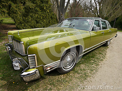 Vintage American Classic Car, Lincoln Continental