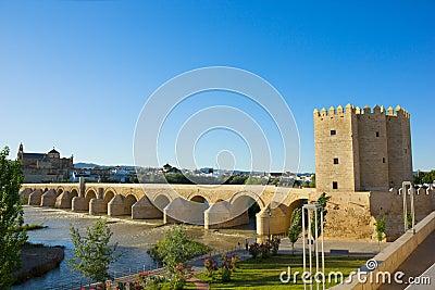 Classic vew of Cordoba, Spain