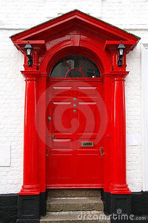 classic victorian door in UK
