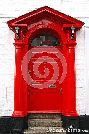 classic victorian door in UK
