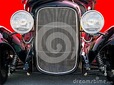 Classic Vintage Hot Rod Car Automobile front