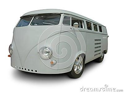 Classic VW Van in Primer