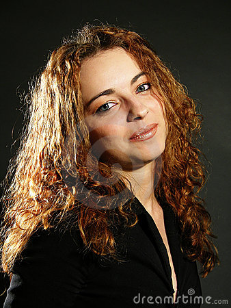 Classic woman portrait