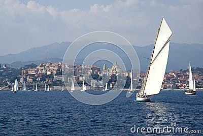 Classic yacht regatta Editorial Photography