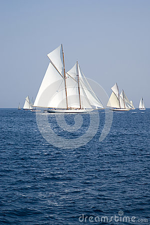 Classic yacht regatta Editorial Photography