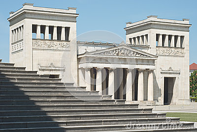 Classical Architecture with Steps