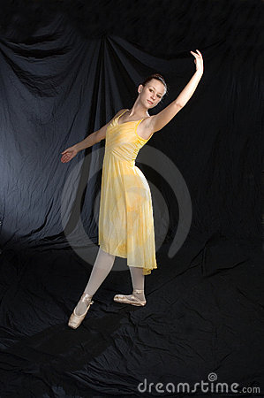 Classical Ballet Pose