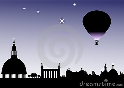Classical Balloon skyline