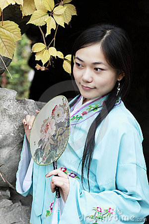 Classical beauty in China.