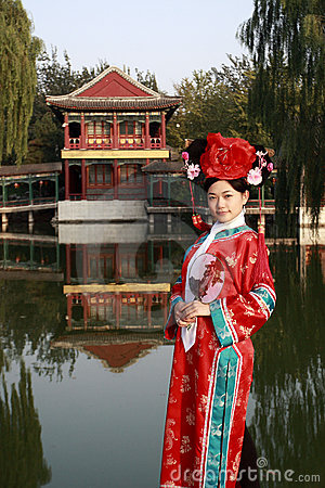 Free Classical Beauty In China. Royalty Free Stock Images - 6725619