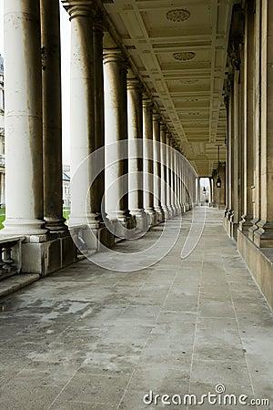 Classical colonnade