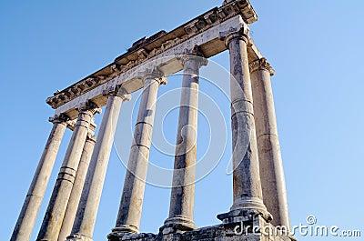 Classical column Portico