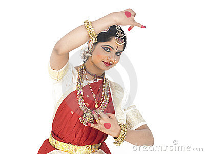 Classical dancer from india