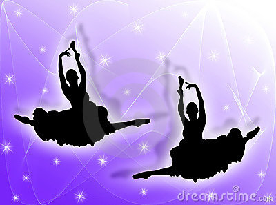 Classical dancers in the stars