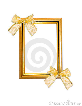 Classical frame with bows