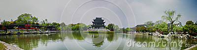 Classical Gardens of Suzhou, Travel to China Editorial Stock Image