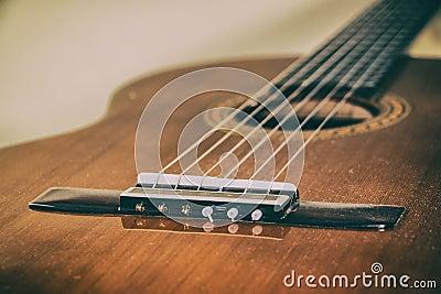 classical guitar bridge stock photo image 41256293. Black Bedroom Furniture Sets. Home Design Ideas