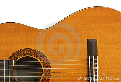 Classical Guitar Close-up III