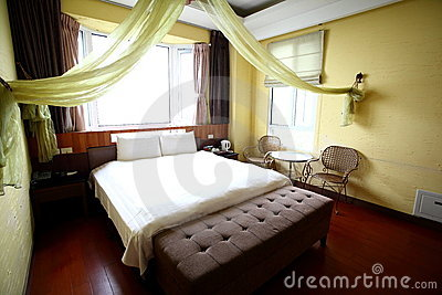 Classical Hotel Room