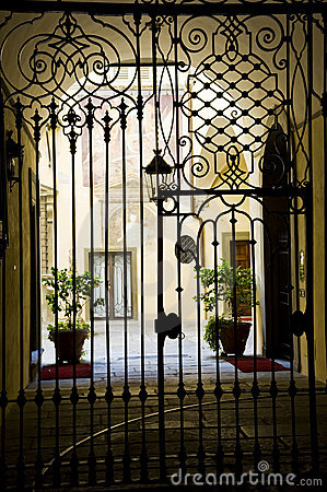 Classical Iron gate