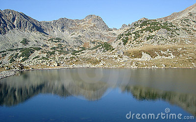 Classical Landscape With Mountain Reflection
