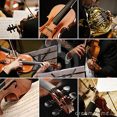 Free Classical Music Collage Stock Photography - 23141032