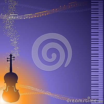 Classical music frame