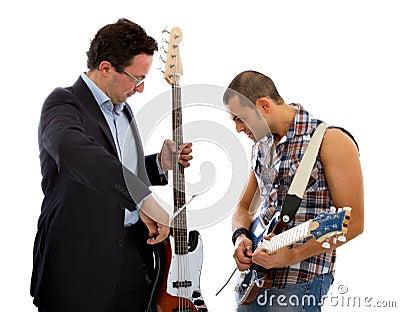 Classical music versus rock music