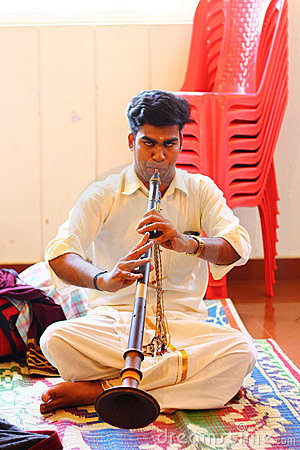 Classical Musical Instrument from South India Editorial Stock Photo