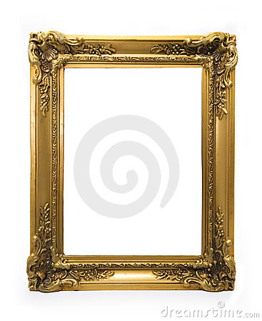 Classical Ornamented Golden Frame