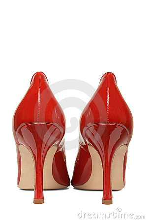 Classical red shoes