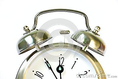 Classical retro ring clock